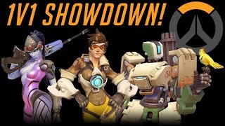 getlinkyoutube.com-Overwatch - 1v1 Showdown With Solidarity - Part 2