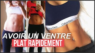 getlinkyoutube.com-AVOIR UN VENTRE PLAT RAPIDEMENT [ROUTINE ABDOS]