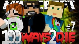 getlinkyoutube.com-Minecraft 100 Ways To Die | Ice Bucket Challenge [7]
