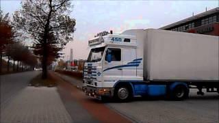 Transrivage duo SCANIA R500 V8+SCANIA 143 450
