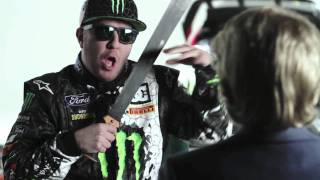KEN BLOCK'S 2012 SCHEDULE AND LIVERY LAUNCH (PART 1: NICK SWARDSON)