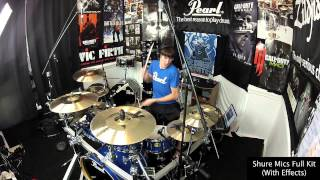 getlinkyoutube.com-My Pearl Session Studio Classic - Kit Tour & Sound Test