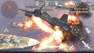 getlinkyoutube.com-GUNSHIP BATTLE : Fleet Attack - BLACKBIRD SR-71