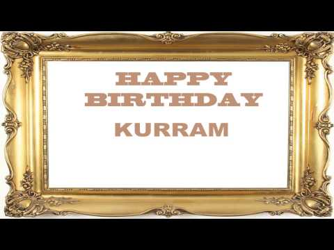 Kurram   Birthday Postcards & Postales
