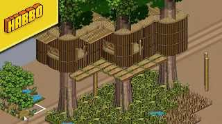 getlinkyoutube.com-Habbo Tutorial - Tree House (Old stacking)