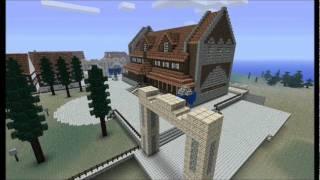 getlinkyoutube.com-Minecraft Timelapse - Dunbarton