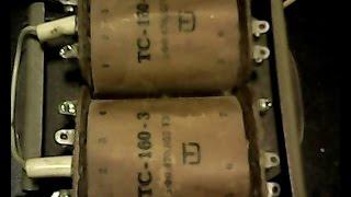 getlinkyoutube.com-Как сделать повышающий трансформатор.  ТС-160-3.