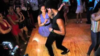 getlinkyoutube.com-Terry Tauliaut & Magna Gopal social dancing at the Salsa Mambo Fest 2014