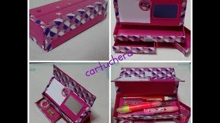 getlinkyoutube.com-DIY cartuchera / pencil case