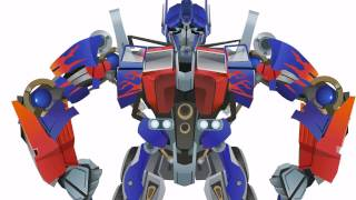 getlinkyoutube.com-OPTIMUS Prime Transform - Short Flash Transformers Series