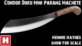 getlinkyoutube.com-Condor Duku Mini Parang Machete