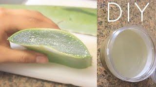 getlinkyoutube.com-DIY Aloe Vera Juice For Hair, Skin and Health