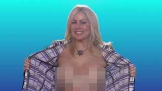getlinkyoutube.com-HI ELLEN! From the Topless Reporter from Canada