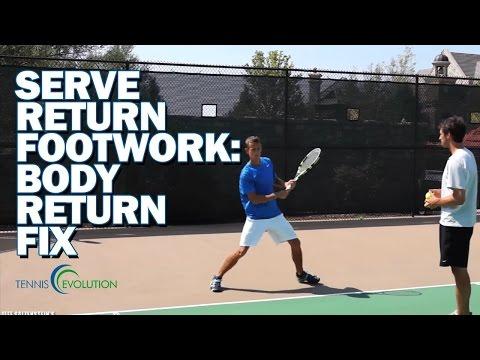 TENNIS RETURN FOOTWORK | The Tennis Return Footwork You Need