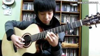 getlinkyoutube.com-(Titanic Theme) My Heart Will Go On - Sungha Jung