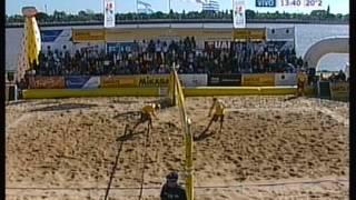 getlinkyoutube.com-Beach Voley Continental Cup Klug - Olivera (ARG) Cardozo - Nieto (URU)