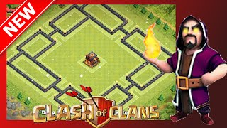 getlinkyoutube.com-TOP Th10 Trophy/War Base (Protects Loot Too!) | The Shock Box | Clash Of Clans