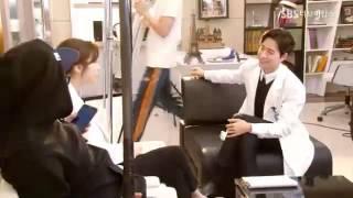Doctor Stranger - Making - Kang Sora & Park Hae Jin cut