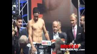Danny Garcia vs Lucas Matthysse Official Weigh in