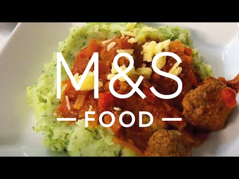 Chris' cheesy melting middle meatballs | M&S FOOD