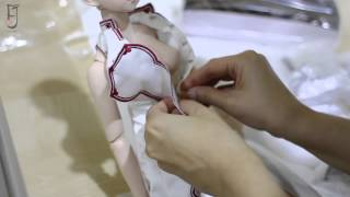 [ Unboxing Dollfie Dream Yuki Asuna - Jaysama / Jalmass ]