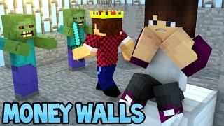 ДРАКА НА БАШНЕ - Minecraft Money Walls (Mini-Game)