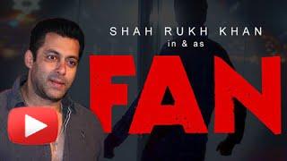 getlinkyoutube.com-Salman Khan Reacts On SRK's Fan Teaser