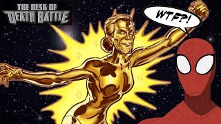 Spider-Man's Aunt May Held the Powers Cosmic?! | Desk of DEATH BATTLE!