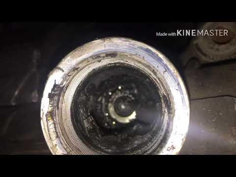 Расположение втулки рулевой рейки у Тойота Премио