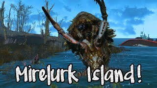 getlinkyoutube.com-Fallout 4 EXTRA! CLEARING MIRELURK ISLAND! (Best Build Area in The Game!)