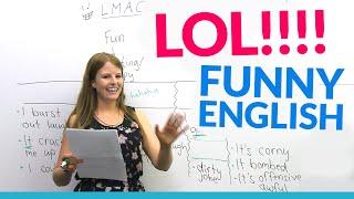 getlinkyoutube.com-LOL!! Learn English vocabulary about JOKES: hilarious, dirty joke, LMAO...