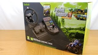 getlinkyoutube.com-Saitek Farming Simulator Gold Wheel Unboxing