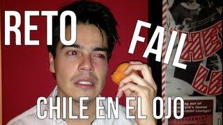 getlinkyoutube.com-Chile en el ojo RETO con Platica Polinesia - Hot pepper habanero challenge