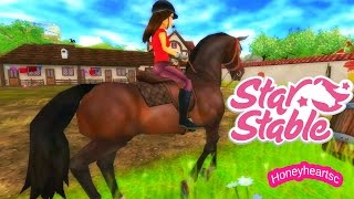 getlinkyoutube.com-Star Stable Horses Game Let's Play with Honeyheartsc Part 1 Video Series - Create Rider