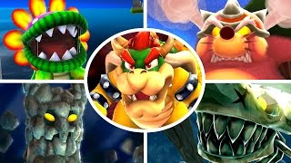 Super Mario Galaxy HD - All Bosses (No Damage)