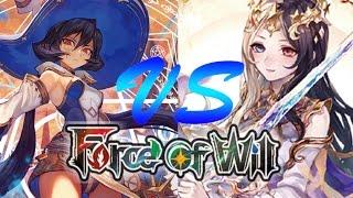 Force of Will (TCG) Feature Match: 4 Color Zero Stun. Vs Lumia Flicker Control