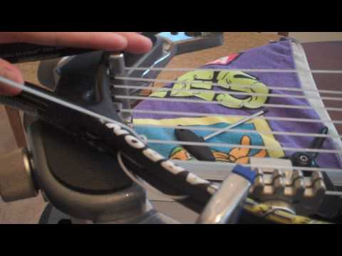 Tutorial: How to string your tennis racquet/racket
