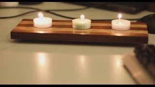 getlinkyoutube.com-004 - Wooden tea-light candle holder (no comment build)