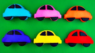 getlinkyoutube.com-Play-Doh Cars Surprise Eggs Traffic Jam! Cars 2 Spongebob Thomas Tank Engine Lalaloopsy FluffyJet