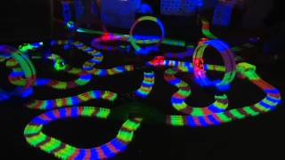 getlinkyoutube.com-Twister Trax Glow Track & Accessory Set w/ Bridge & Tunnel on QVC