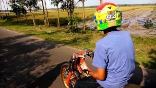 getlinkyoutube.com-Drag sport 4tak 200cc KR2 Ngajuk by Dimas Kekek