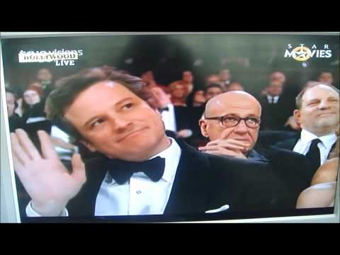 Sandra Bullock names Colin Firth Best Actor @ Oscars 2011