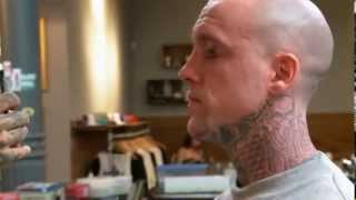 getlinkyoutube.com-Most Painful Tattoos: Eyelids - NY Ink