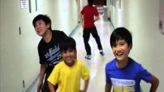 getlinkyoutube.com-Harvey Bautista Gangnam Style- Part 2 ( with Nash, Andre, Alexa & Izzy)