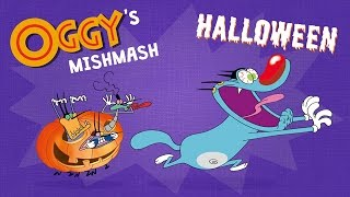 getlinkyoutube.com-Oggy's Mishmash - Halloween - Oggy & The Cockroaches Special!