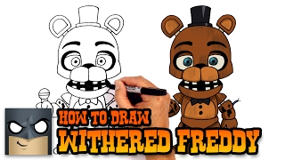 getlinkyoutube.com-How to Draw Withered Freddy   Five Nights at Freddy's