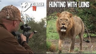 getlinkyoutube.com-Hunting with lions by Kristoffer Clausen. English subtitles in full movie.