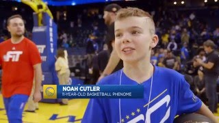 getlinkyoutube.com-11-Year-Old Kid Shows Off His Handles on Warriors Ground
