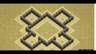 getlinkyoutube.com-Clash of Clans - BEST |Town Hall 4 Trophy Base/War Base|
