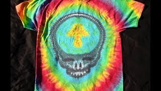 getlinkyoutube.com-How To Tie Dye A Grateful Dead Steal Your Face